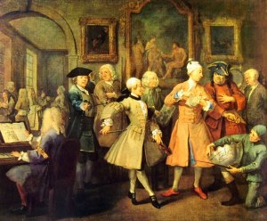 9 Hogarth - La carriera del libertino - la Leeve